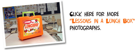 "Click here for more ""Lessons in a Lunch Box"" photographs."